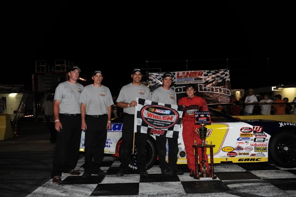 Chase Elliott Scores First Win in Aaron's Dream Machine Late Model