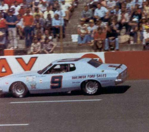 Start of Winston Cup career