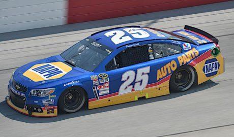 NAPA Bill Elliott Throwback #25 Chevrolet (2015)