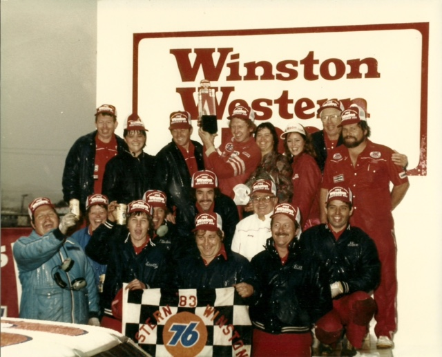 First Winston Cup Victory