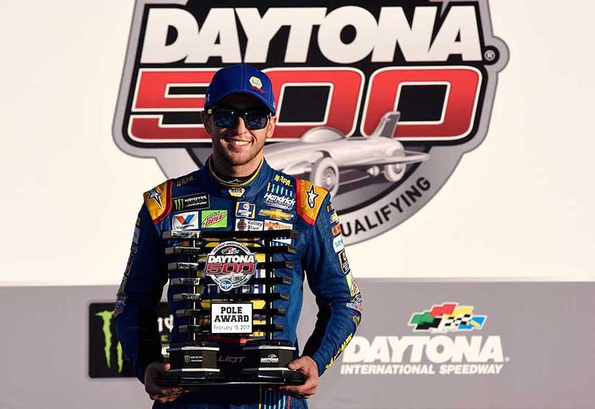 Consecutive Daytona 500 Pole Winner